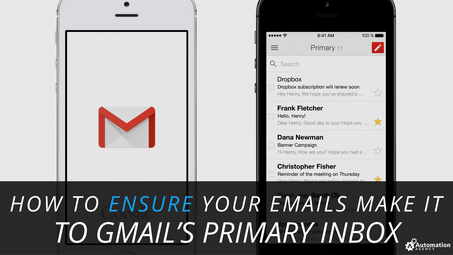 get emails to gmail primary inbox